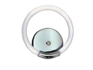 Φωτιστικό Τοίχου-Απλίκα Led 43017 Φ23cm 400Lm Chrome Inlight