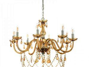 Φωτιστικό Οροφής 5314-8 75cm 8xΕ14 Honey Inlight