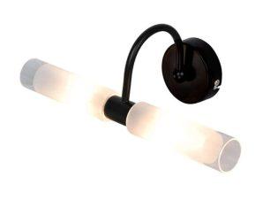 Φωτιστικό Τοίχου-Απλίκα 1048 31,5x16cm 2xG9 Black Inlight