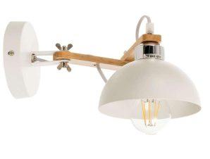Φωτιστικό Τοίχου-Απλίκα 43382 34x17cm 1xΕ27 White Inlight
