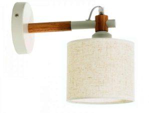 Φωτιστικό Τοίχου-Απλίκα 43383 25x24cm 1xΕ27 White Inlight