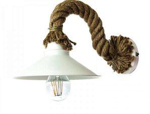Φωτιστικό Τοίχου-Απλίκα 43351 20x35cm 1xΕ27 White Inlight