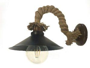 Φωτιστικό Τοίχου-Απλίκα 43351 20x35cm 1xΕ27 Black Inlight