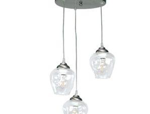 Φωτιστικό Οροφής 4474-3 30x90cm 3xΕ27 Nickel Inlight