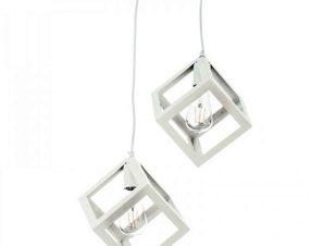 Φωτιστικό Οροφής 4400-2 Φ20cm 2xΕ27 White Inlight