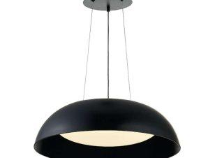 Φωτιστικό Οροφής Led 6012 50,5x14cm 3900Lm Black Inlight