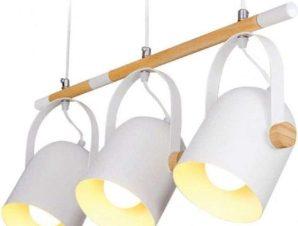 Φωτιστικό Οροφής-Ράγα 61303 60x102cm 3xΕ27 White Inlight