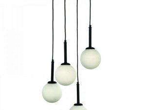 Φωτιστικό Οροφής 4514-4 30x110cm 4xG9 Black-White Inlight
