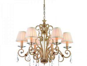 Φωτιστικό Οροφής 5276-6 65x80cm 6xΕ14 Beige Inlight