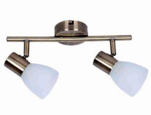 Φωτιστικό Οροφής-Σποτ 9065-2 30x16cm 2xE14 Bronze Inlight