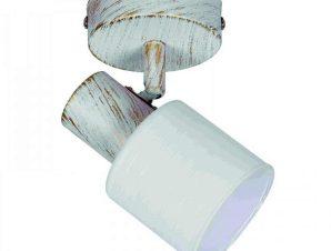 Φωτιστικό Οροφής-Σποτ 9079-1 12x7cm 1xE14 White Inlight