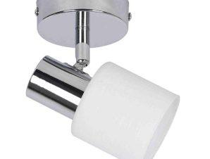 Φωτιστικό Οροφής-Σποτ 9079-1 12x7cm 1xE14 Chrome Inlight