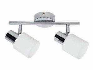Φωτιστικό Οροφής-Σποτ 9079-2 27x7cm 2xE14 Chrome Inlight