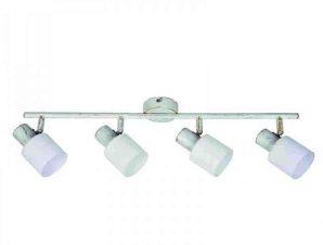 Φωτιστικό Οροφής-Σποτ 9079-4 62x7cm 4xE14 White Inlight