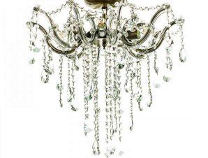 Φωτιστικό Οροφής-Πλαφονιέρα 5249-6 60x62cm 6xΕ14 Bronze Inlight