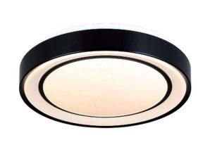 Φωτιστικό Οροφής-Πλαφονιέρα Led 42179-A 50x8cm 2900Lm Black Inlight