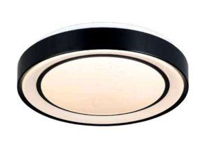 Φωτιστικό Οροφής-Πλαφονιέρα Led 42179-B 40x8cm 2200Lm Black Inlight