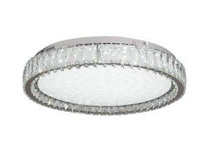 Φωτιστικό Οροφής-Πλαφονιέρα Led 42013-Β 60x15cm 3450Lm Chrome Inlight