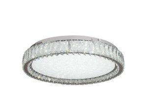 Φωτιστικό Οροφής-Πλαφονιέρα Led 42013-Γ 40x15cm 2400Lm Chrome Inlight