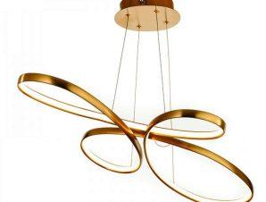 Φωτιστικό Οροφής Led 6151 L100cm 4200Lm Gold Inlight