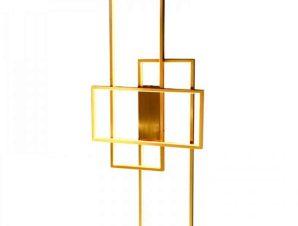 Φωτιστικό Τοίχου-Οροφής Led 6159 40x100cm 6000Lm Gold Inlight