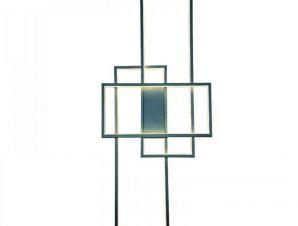 Φωτιστικό Τοίχου-Οροφής Led 6159 40x100cm 6000Lm Chrome Inlight