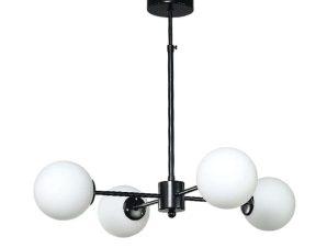 Φωτιστικό Οροφής 5315-4 45x75cm 4xG9 Black-White Inlight
