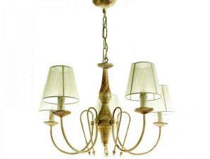 Φωτιστικό Οροφής 5308-5 60x42cm 5xE14 Antique White Inlight