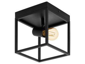 Φωτιστικό Οροφής Πλαφονιέρα Silentina 98331 Black Eglo