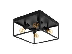 Φωτιστικό Οροφής Πλαφονιέρα Silentina 98334 Black Eglo
