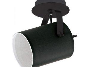 Φωτιστικό Οροφής-Σποτ Villabate 33645 1 Black Eglo