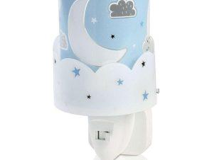 Φωτάκι Νυκτός Παιδικό Moon 61235 T Blue Ango