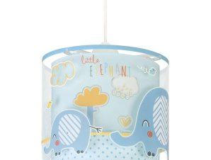 Φωτιστικό Οροφής Παιδικό Little Elephant 61332 T Blue Ango
