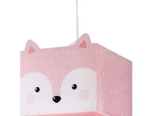 Φωτιστικό Οροφής Παιδικό Little Fox 64582 Pink Ango