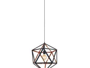 Φωτιστικό Οροφής Ø460 'Embleton 1 43349 Black-Copper Eglo