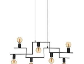 Φωτιστικό Οροφής-Ράγα 'Fembard' 43365 Black Eglo