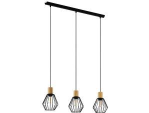 Φωτιστικό Οροφής-Ράγα 'Palmorla' 43378 Black-Brown Eglo