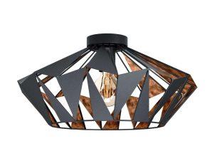 Φωτιστικό Οροφής-Πλαφονιέρα 'Carlton 6' 43399 Black-Copper Eglo