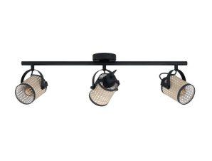 Φωτιστικό Οροφής-Σποτ LS3 'Ruscomb' 43495 Natural-Black Eglo