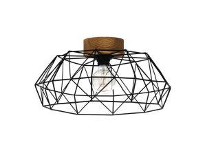 Φωτιστικό Οροφής-Πλαφονιέρα 'Padstow' 43363 Natural-Black Eglo