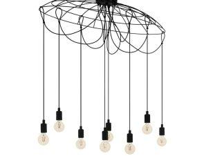 Φωτιστικό Οροφής-Πλαφονιέρα 'Hogsmill' 43322 Black Eglo