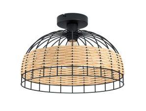 Φωτιστικό Οροφής-Πλαφονιέρα 'Anwick' 43398 Natural-Black Eglo