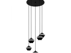 Φωτιστικό Οροφής Perpigo 98683 Black-White Eglo