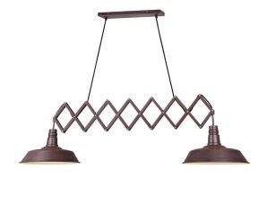 Φωτιστικό Οροφής Detroit 305300224 Rusty Trio Lighting