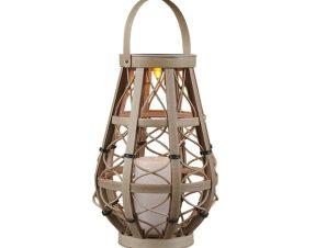 Επιτραπέζιο Φωτιστικό Vinto SMD-LED Ip44 D11x27cm Beige Trio Lighting