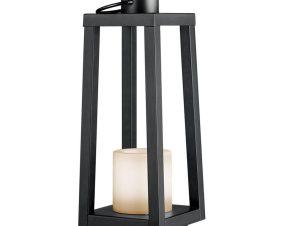 Επιτραπέζιο Φωτιστικό Loja SMD-LED Ip44 16x42cm Black Trio Lighting