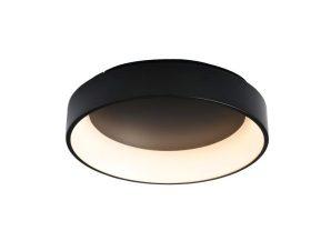 Φωτιστικό Οροφής – Πλαφονιέρα Led BR81LEDC60BK 48W 3000K 2630lm D60XH14 Black Aca Decor