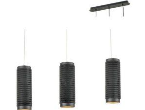 Φωτιστικό Οροφής – Ράγα YL10P318BK 3XGU10 6,5X60XH122 Black Aca Decor