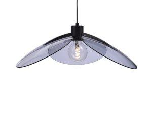 Φωτιστικό Οροφής EF21P158BS 1ΧΕ27 D58XH120 Fume-Black Aca Decor