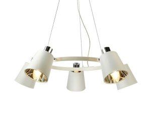 Φωτιστικό Οροφής EG215P73WH 5ΧΕ14 D73XH100 White Aca Decor